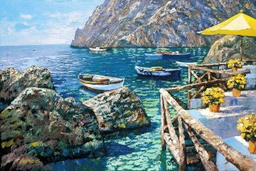Cafe Capri HC 2003 Limited Edition Print - Howard Behrens