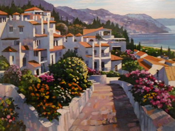 Mijas 1990 Limited Edition Print - Howard Behrens