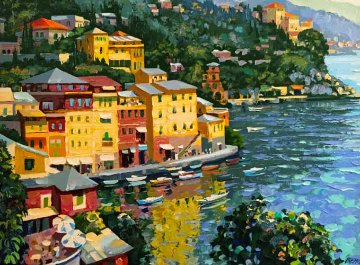 Harbor View 1995 Limited Edition Print - Howard Behrens