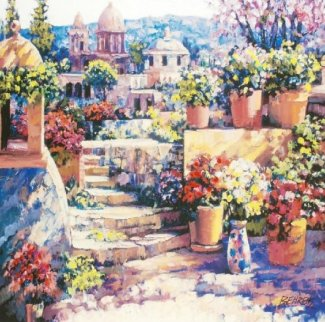 Domes of Mexico Limited Edition Print - Howard Behrens