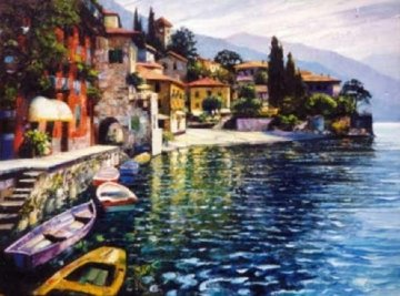 Warmth of Varenna Limited Edition Print - Howard Behrens
