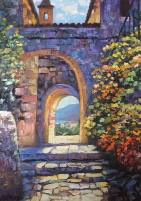 Arches of Eze II 27x36
