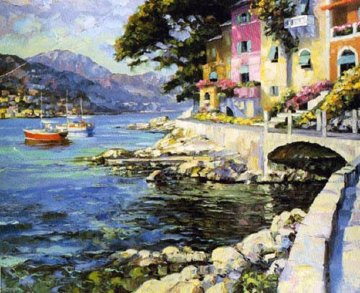 Antibes 1990 Limited Edition Print - Howard Behrens