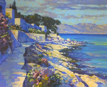 Cap Ferrat 1990 Limited Edition Print - Howard Behrens