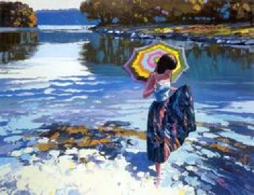 Parasol Limited Edition Print - Howard Behrens