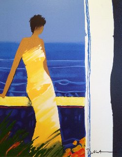 A Docee a La Mer 2004 Limited Edition Print - Emile Bellet
