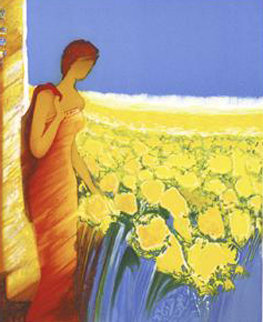 Parfum De Tournesols 2006 Limited Edition Print - Emile Bellet