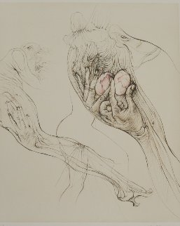 l'oeuf 1970 Limited Edition Print - Hans Bellmer