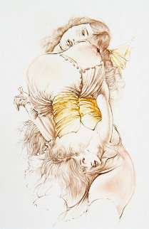 Jeune Fille Au Corps Re'versible 1970 Limited Edition Print - Hans Bellmer