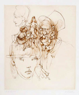 Untitled III 1972 Limited Edition Print - Hans Bellmer