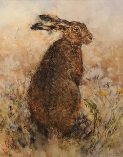 Curious Hare Limited Edition Print - Gary Benfield
