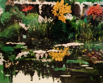 Monets Garden 1990 Limited Edition Print - Tony Bennett