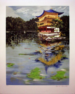 Golden Pavilion, PP Limited Edition Print - Tony Bennett