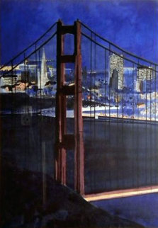 Golden Gate Bridge, San Francisco 1987 Limited Edition Print - Tony Bennett