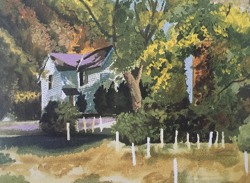 Wolftrap Watercolor 9x12 Nat'l Park, Vienna, Va Watercolor - Tony Bennett