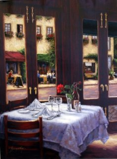Table For Two Limited Edition Print - Stephen Bergstrom