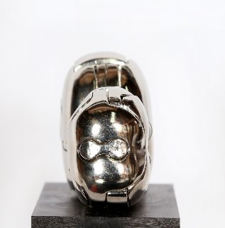 Mini-Zoraida Nickel Plated Sculpture 1970 Sculpture - Miguel Ortiz Berrocal