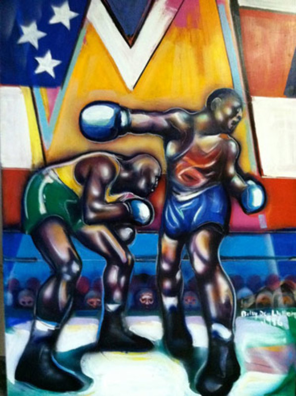 Untitled Boxer - Centennial Olympic Games 1996 72x60