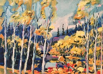 Autumn in the Rockies 1983 Limited Edition Print - Earl Biss