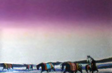 Twilight Rounup 1985 Limited Edition Print - Earl Biss