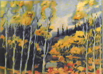 Autumn in the Rockies 1985 Limited Edition Print - Earl Biss
