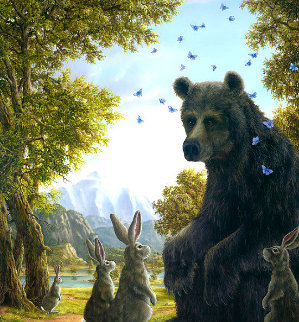 Oracle 2009  Limited Edition Print - Robert Bissell
