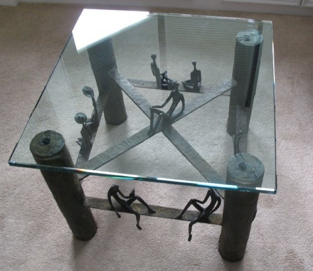 Untitled Bronze Coffee Table Unique 2008