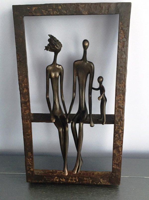 Dancers Bronze Sculpture 1991 20 In By Ruth Bloch