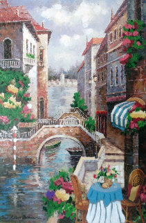 Let Venice Seduce Your Soul  2007 Embellished Limited Edition Print - Shari Hatchett Bohlmann