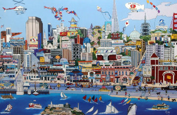 Heart of San Francisco (CA) Limited Edition Print - Shari Hatchett Bohlmann