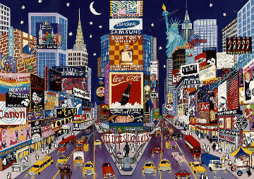New York Glitter Limited Edition Print - Shari Hatchett Bohlmann