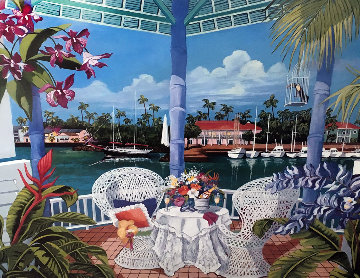 Tropical Hideaway 1990 Limited Edition Print - Shari Hatchett Bohlmann