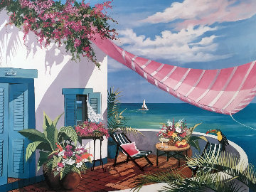 Tropical Afternoon 1990 Limited Edition Print - Shari Hatchett Bohlmann