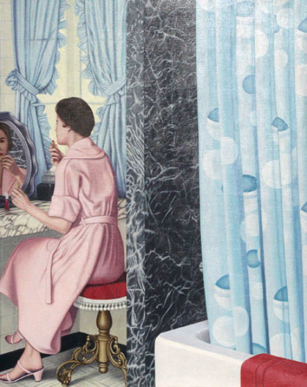 Woman At Dressing Table #24 1980 78x60