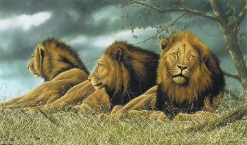 Triple Trouble 2012 Limited Edition Print - Andrew Bone