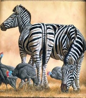 Spots And Stripes 2014  Limited Edition Print - Andrew Bone