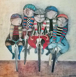 Tour De France  1977 Limited Edition Print - Graciela Rodo Boulanger