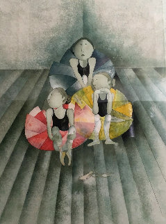 Untitled (Ballet Dancers) Limited Edition Print - Graciela Rodo Boulanger