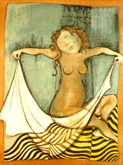 Virgo: Zodiac Suite 1976 Limited Edition Print - Graciela Rodo Boulanger