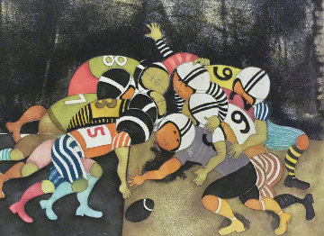Football 1986 Limited Edition Print - Graciela Rodo Boulanger