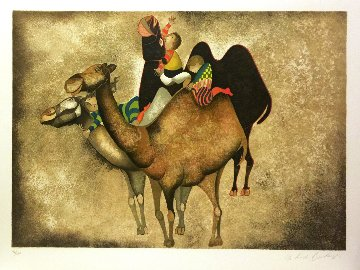 Three Camels Limited Edition Print - Graciela Rodo Boulanger