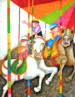 Tour Manege 2000 Limited Edition Print - Graciela Rodo Boulanger