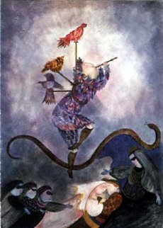 Magic Flute 1987 Limited Edition Print - Graciela Rodo Boulanger