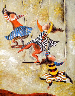 On the Swings Limited Edition Print - Graciela Rodo Boulanger