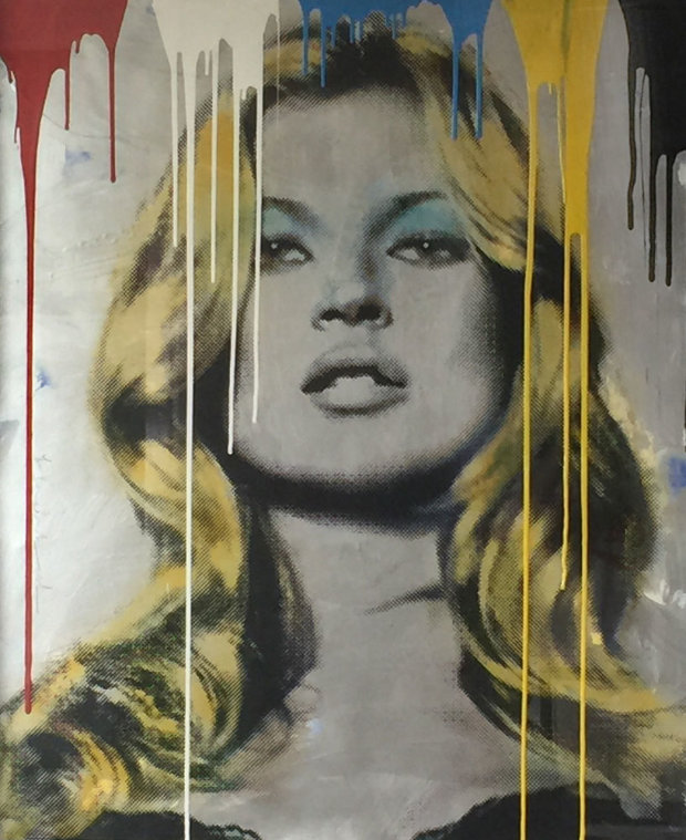 Kate Moss Unique 2012 40x50
