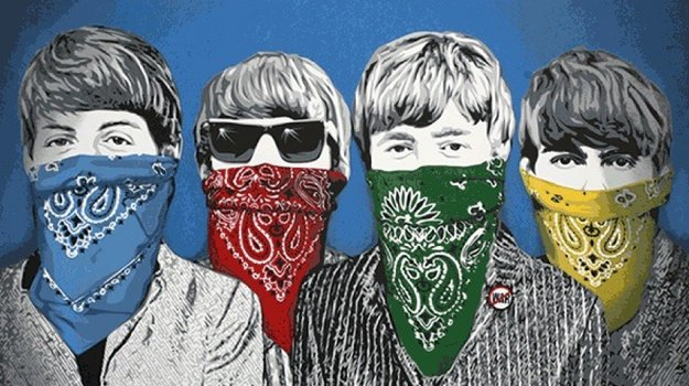 Beatles Bandidos 2012 Limited Edition Print by Mr. Brainwash
