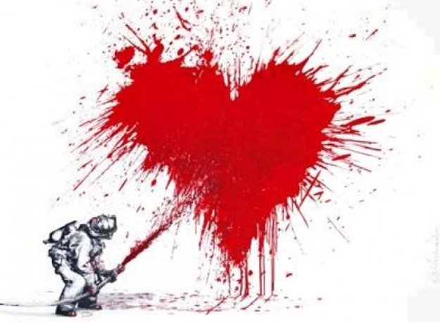 Love to the Rescue 2013 Limited Edition Print by Mr. Brainwash