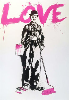 Love 2010 Limited Edition Print by Mr. Brainwash
