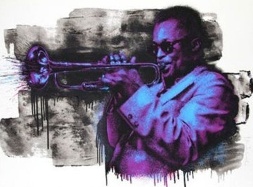 Miles Davis 2015 Limited Edition Print by Mr. Brainwash