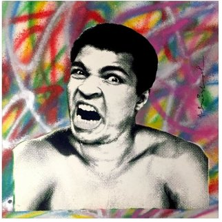 Legendary Ali 2017  Limited Edition Print by Mr. Brainwash